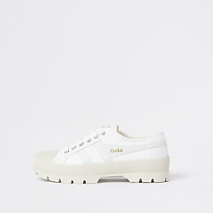 Gola cream chunky vegan trainers