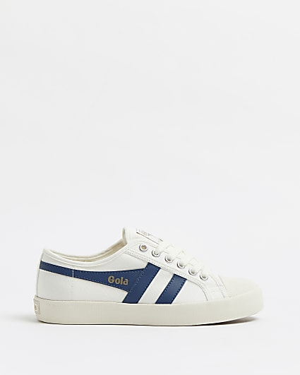 Gola white classic trainers