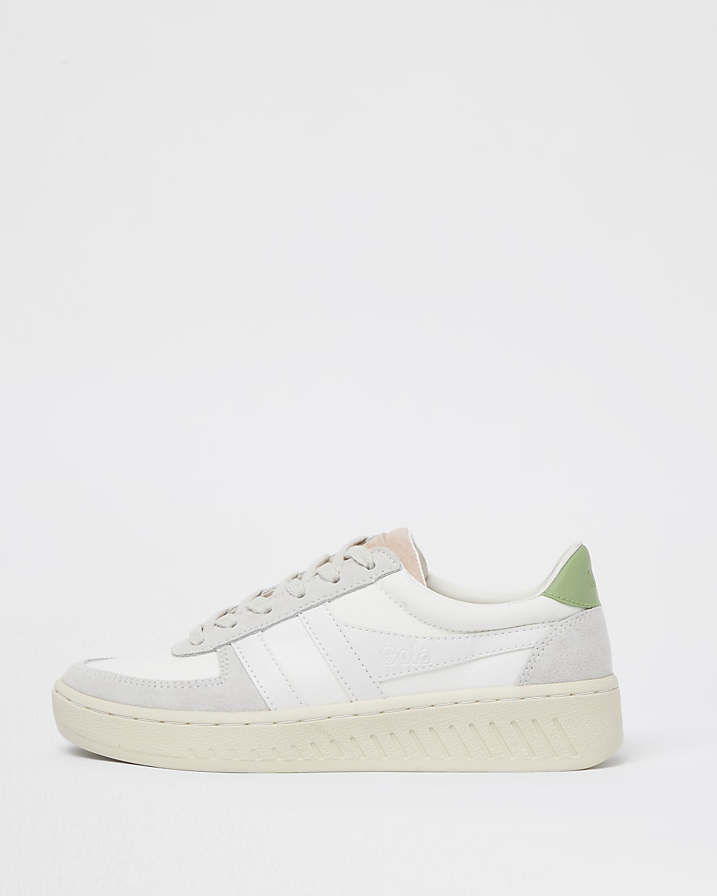 Gola white panelled chunky trainers