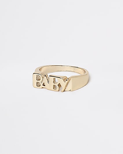 Gold 'Baby' ring