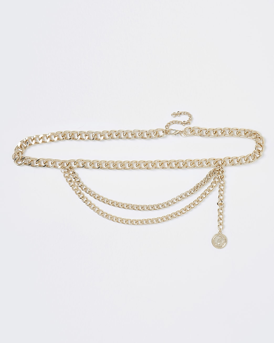Gold colour charm belly chain
