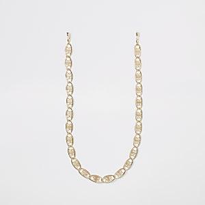Gold colour RI sunglasses chain