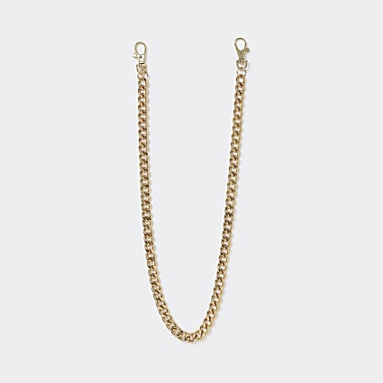 Gold colour wallet chain
