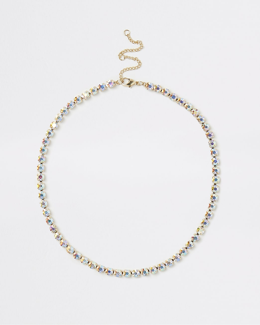 Gold cupchain necklace