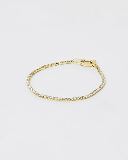 Gold Plated Tennis Bracelet