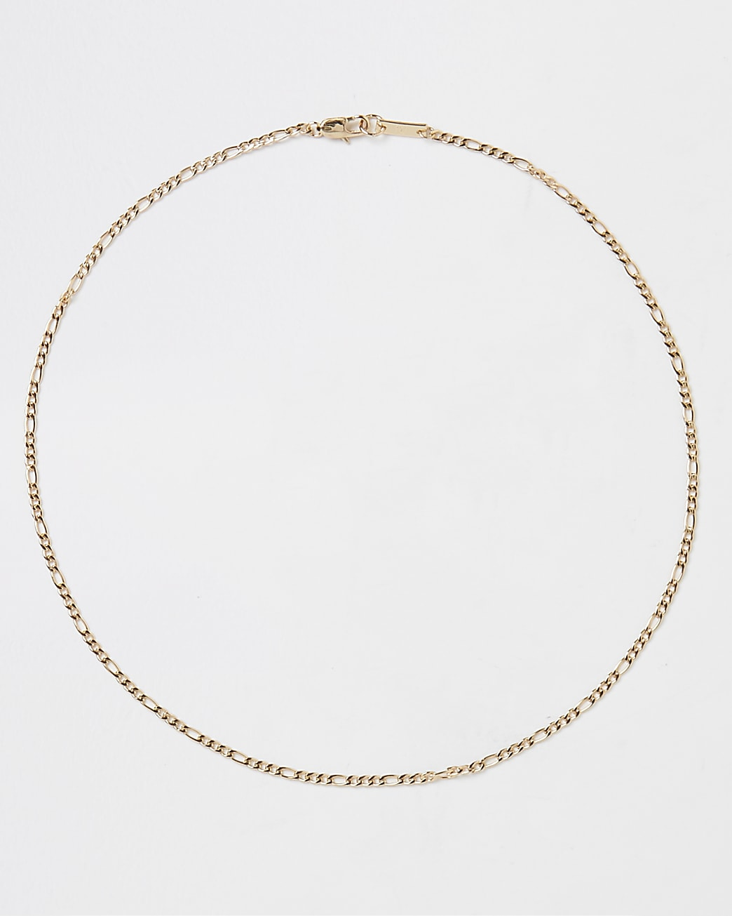 Gold stainless steel chain necklace