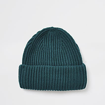 Greeb fisherman beanie hat