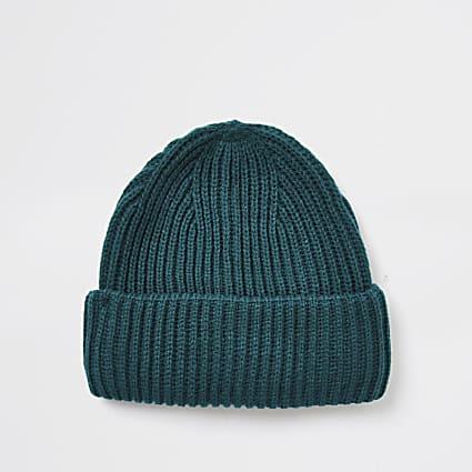 Greeb fisherman beanie hat