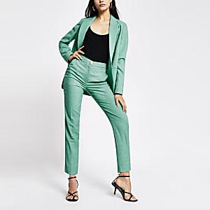 Grüne Zigarettenhose