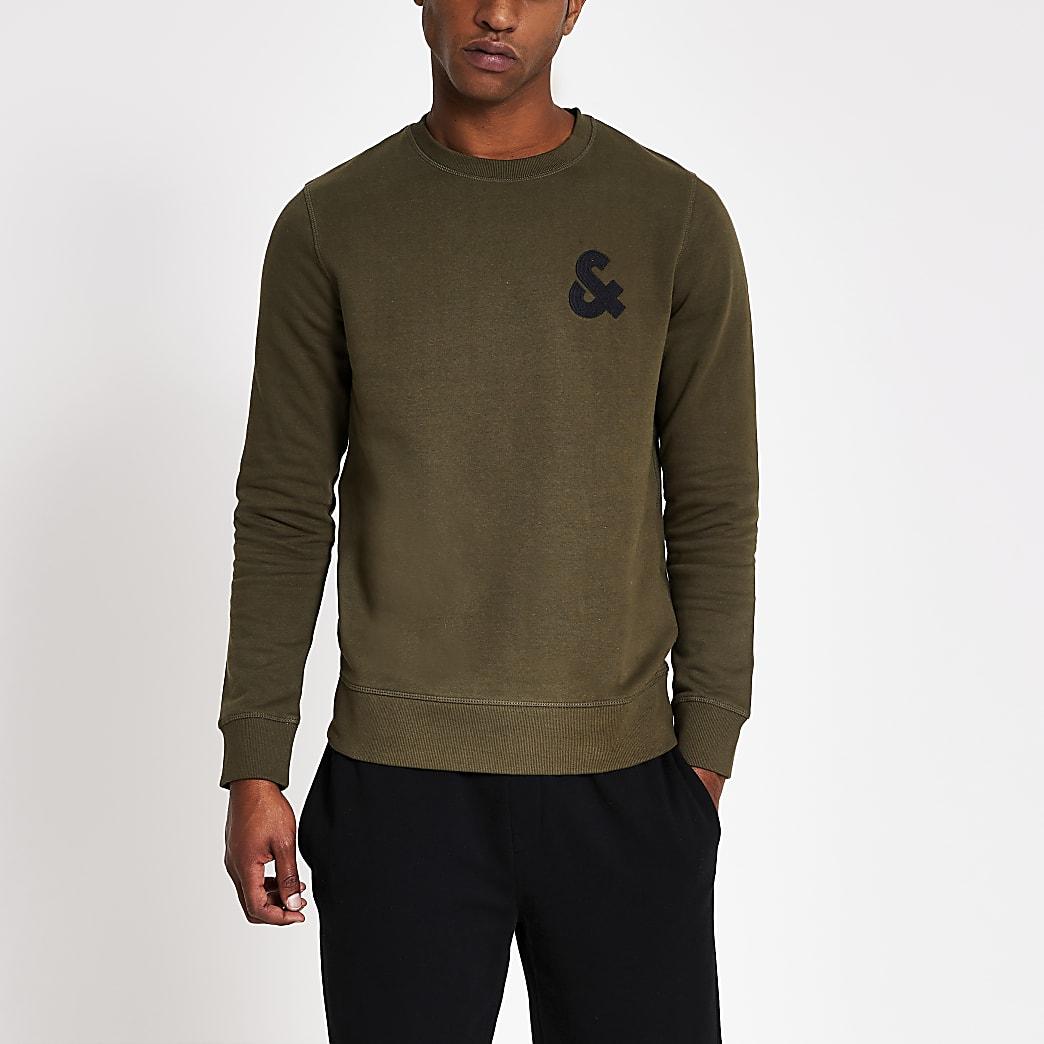 Jack and Jones - Groene sweater