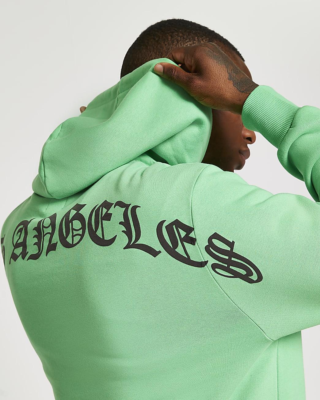 Green Los Angeles Hoodie