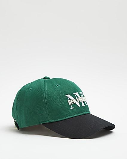 Green NYC baseball cap