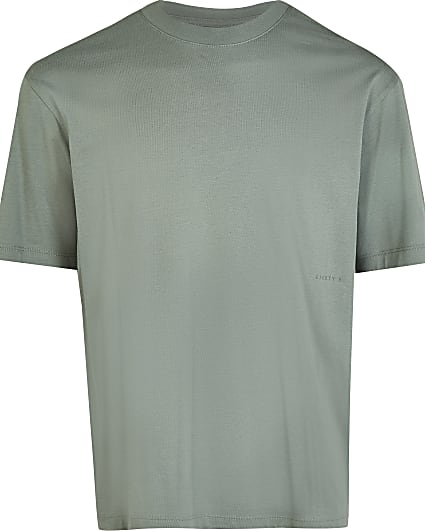 Green oversized t-shirt