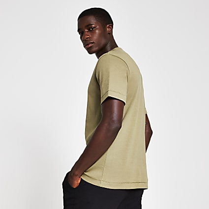 Green premium regular fit t-shirt