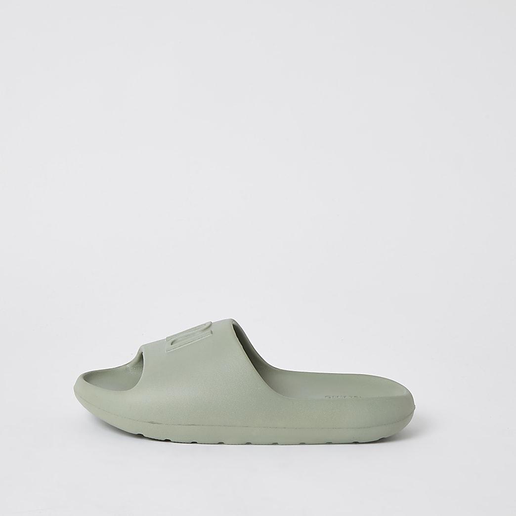 Green RI branded sliders