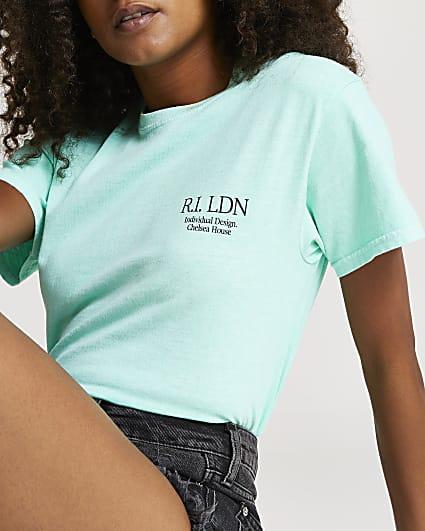 Green RI LDN short sleeve t-shirt