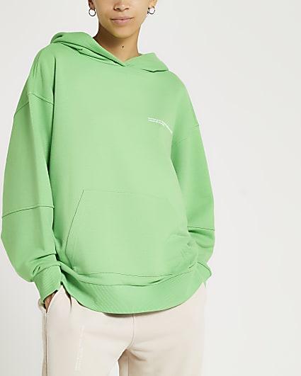 Green RI One hoodie