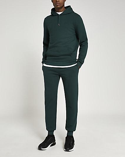 Green RI slim fit joggers