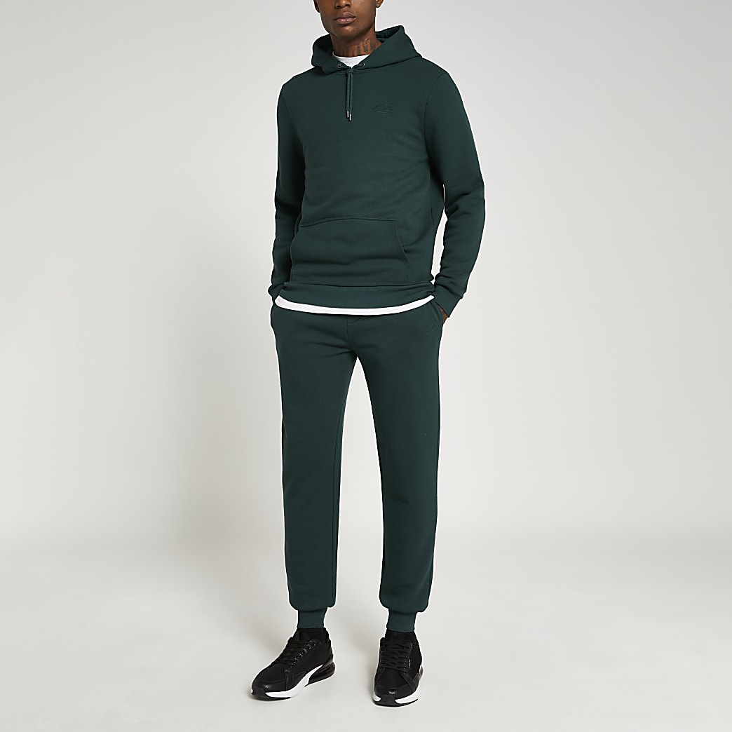 Green RI slim fit joggers