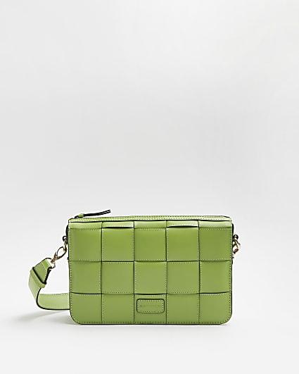 Green RI Studio Leather Crossbody Bag