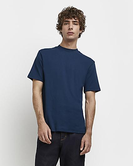 Green RI Studio slim fit high neck t-shirt