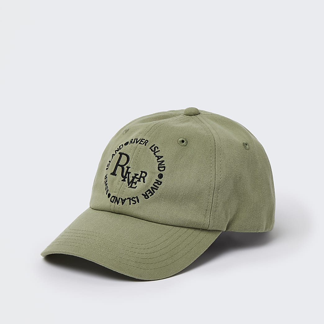 Green river soft embroidered cap