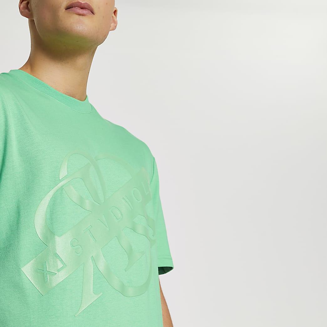 Green RR regular fit t-shirt