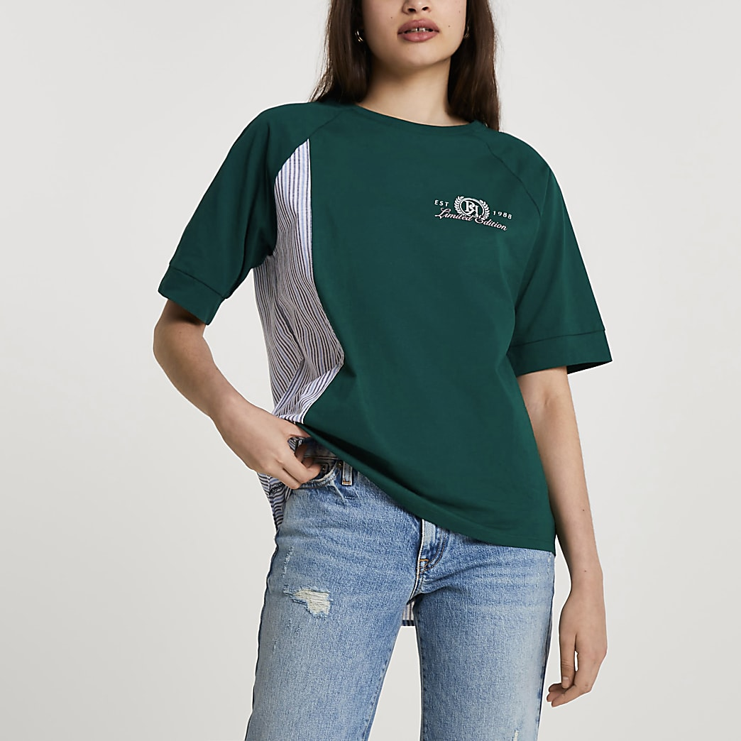 Green short sleeve limited edition t-shirt