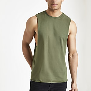 Green tank vest