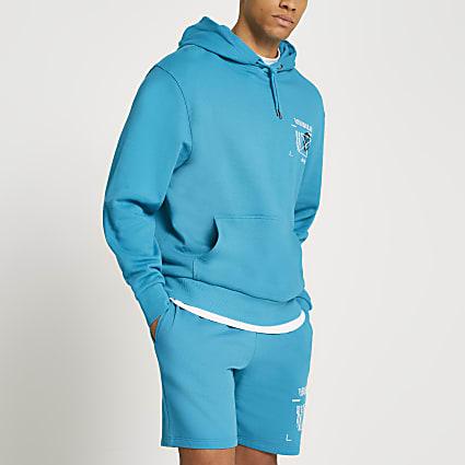 Green Varials graphic hoodie