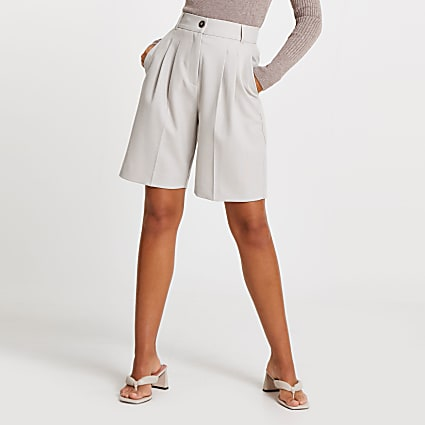 Grey bermuda shorts