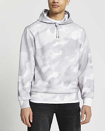 Grey camo hoodie