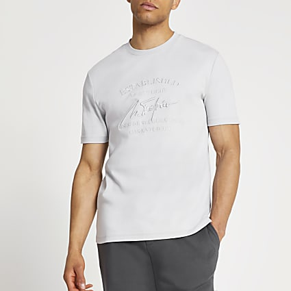 Grey 'Casa Studios' slim fit t-shirt