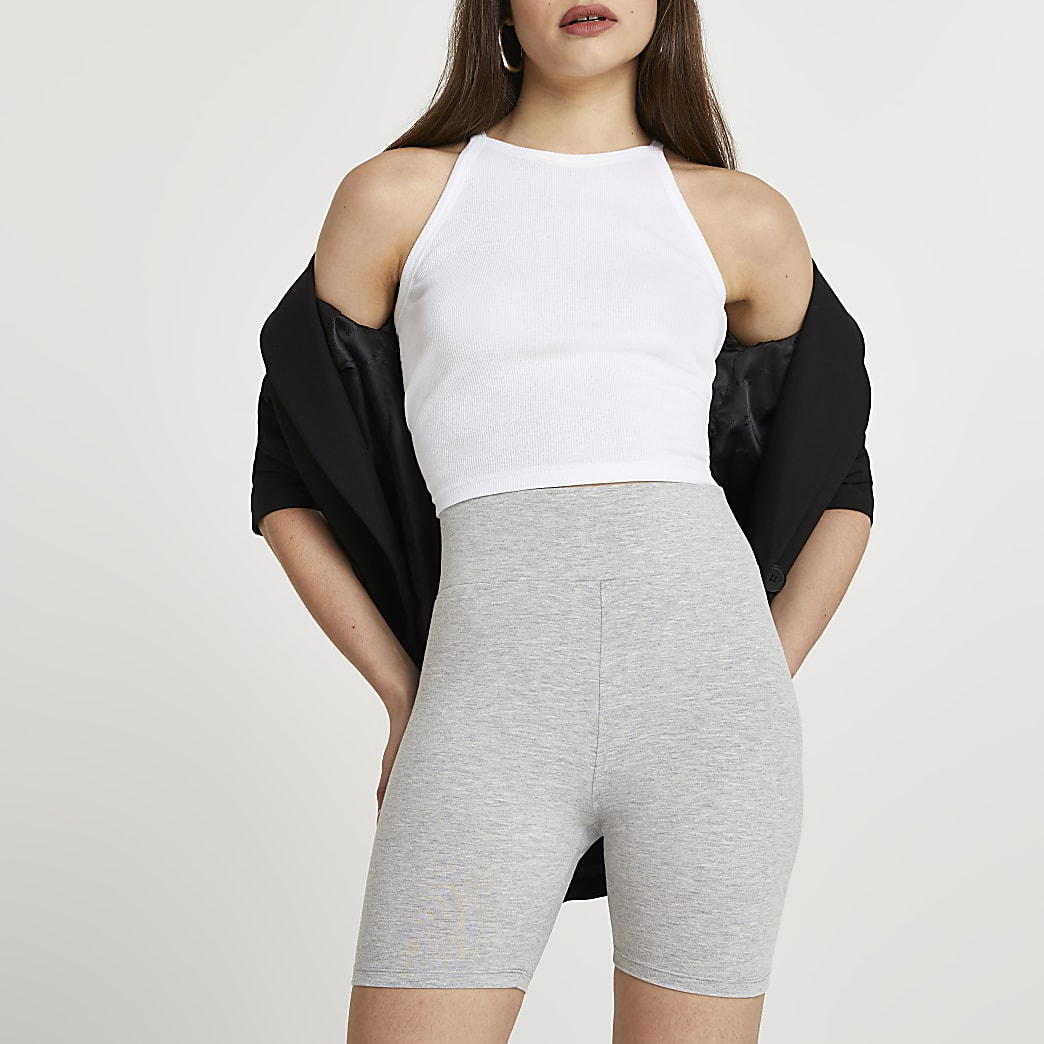 Grey cycling shorts