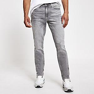 Dylan - Grijze slim-fit jeans