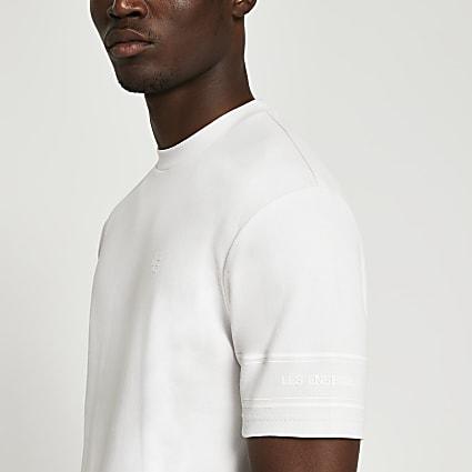 Grey graphic t-shirt