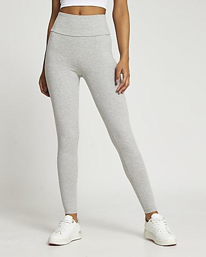 Grey high waisted bum sculpt leggings