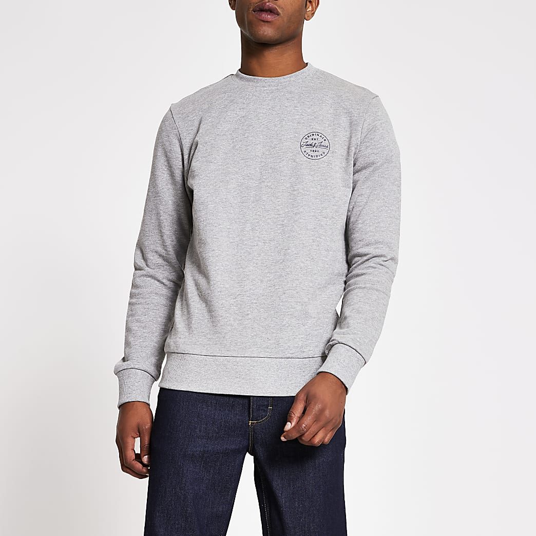 Grey Jack and Jones Sweatshirt
