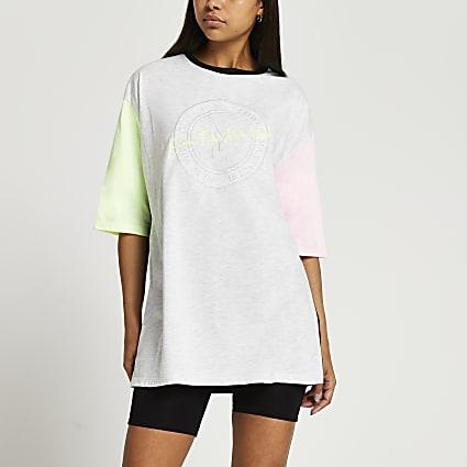 Grey NYC neon oversized t-shirt