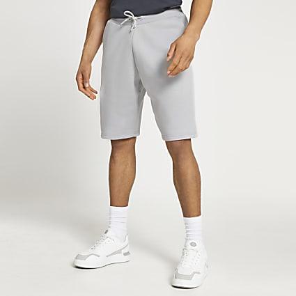 Grey oversized shorts