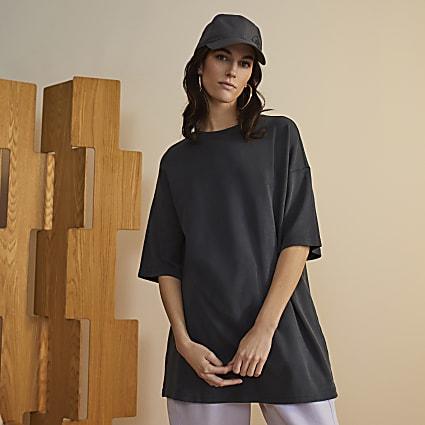 Grey premium oversized t-shirt