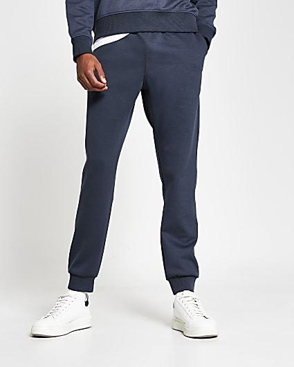 Grey premium slim fit joggers