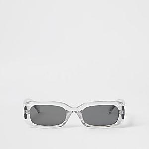 Graue Sonnenbrille in Rechteckform