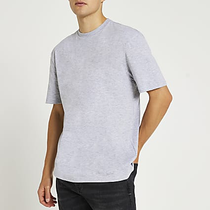 Grey regular fit t-shirt