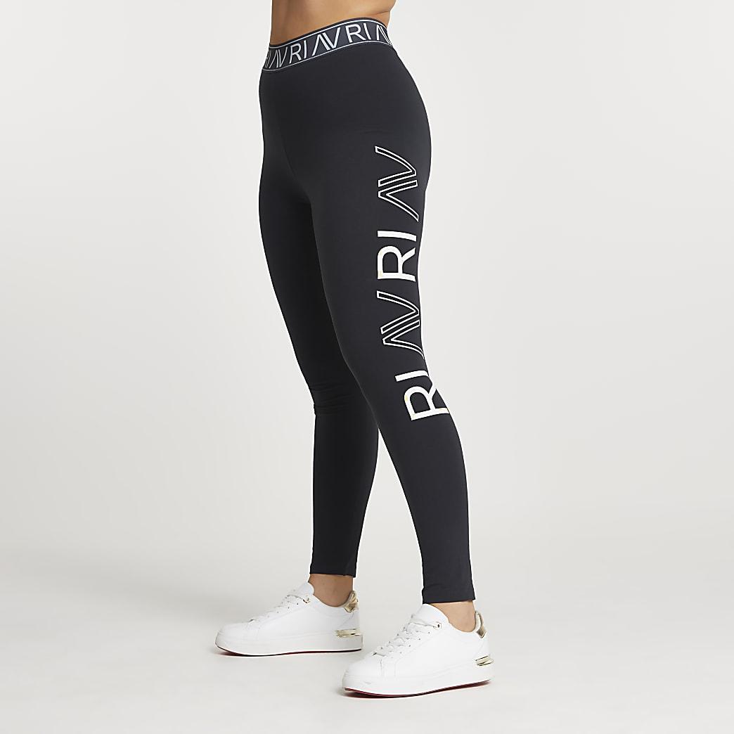 Grey RI Active leg print leggings