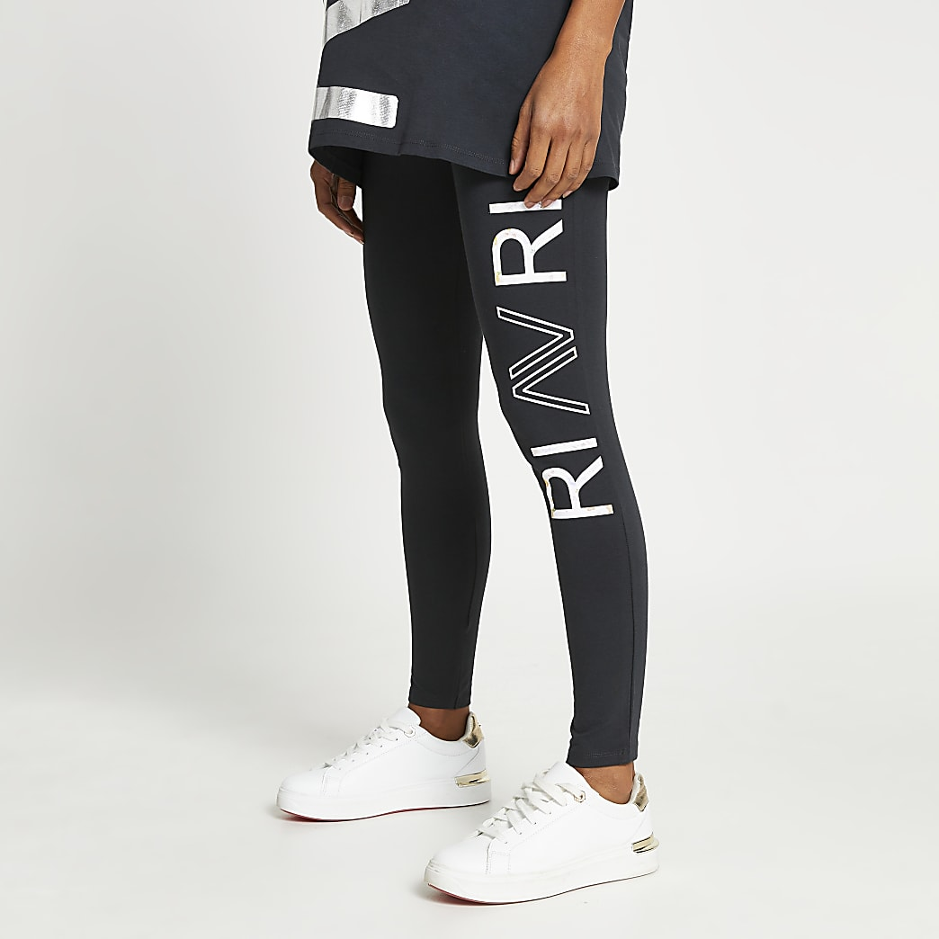Grey RI Active maternity leggings