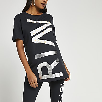 Grey RI Active maternity t-shirt