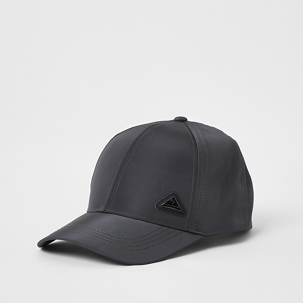 Grey RI branded nylon cap
