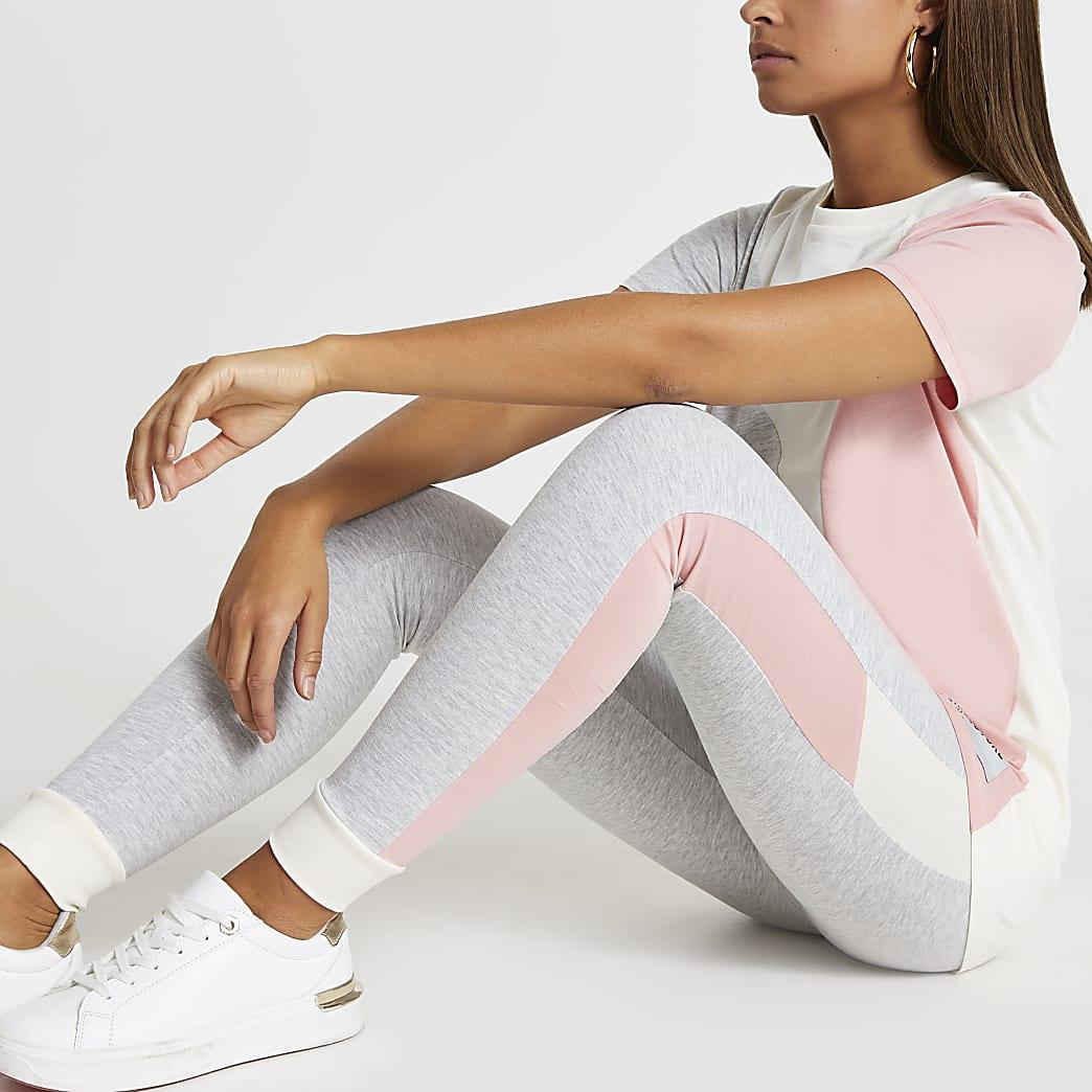 Grey RI couture colour block leggings