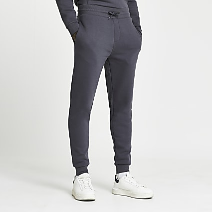 Grey RI slim fit joggers